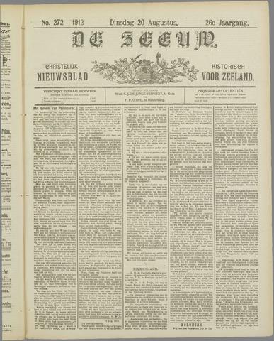 De Zeeuw. Christelijk-historisch nieuwsblad voor Zeeland 1912-08-20