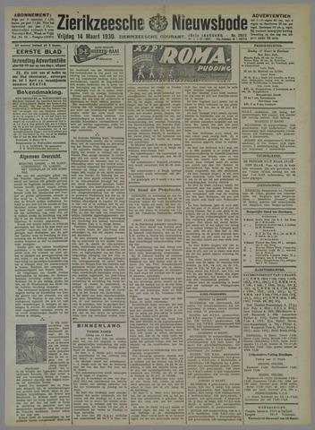 Zierikzeesche Nieuwsbode 1930-03-14