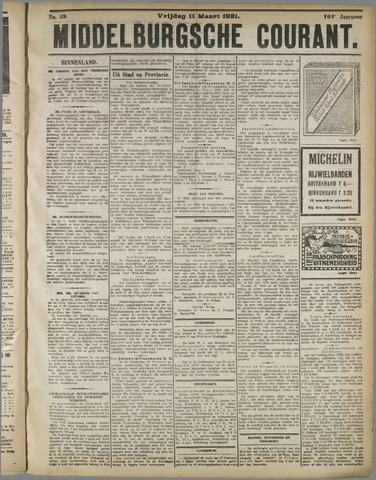 Middelburgsche Courant 1921-03-11