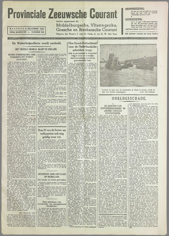 Provinciale Zeeuwse Courant 1940-12-09