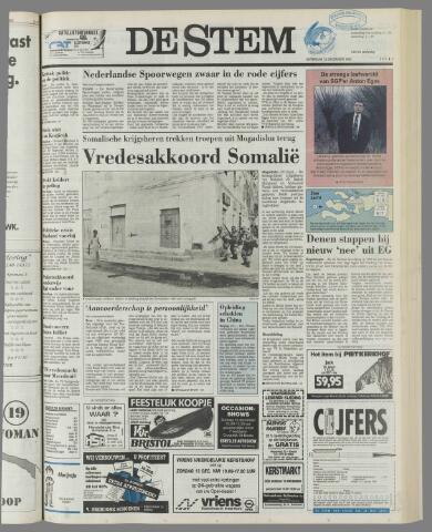 de Stem 1992-12-12