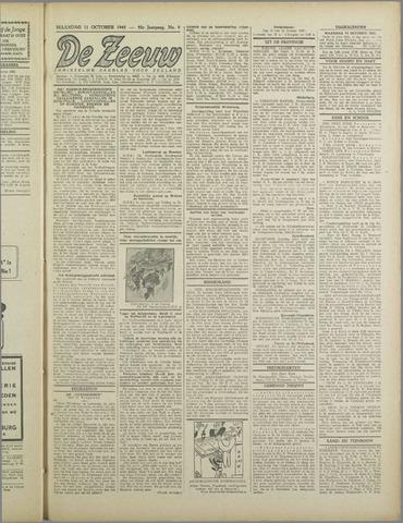 De Zeeuw. Christelijk-historisch nieuwsblad voor Zeeland 1943-10-11