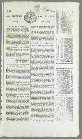 Zierikzeesche Courant 1824-06-04