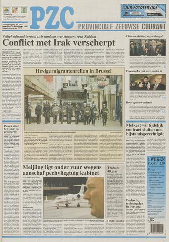 Provinciale Zeeuwse Courant 1997-11-10