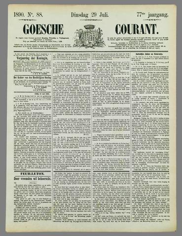 Goessche Courant 1890-07-29