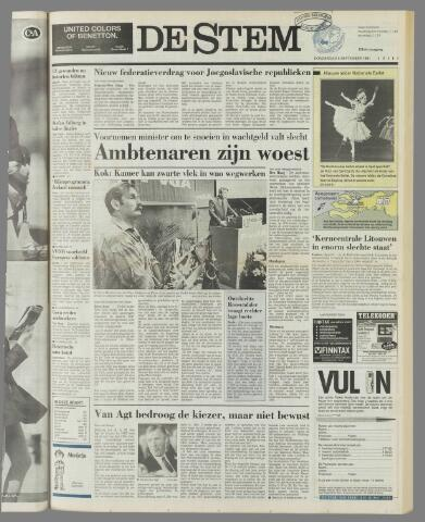 de Stem 1991-09-05