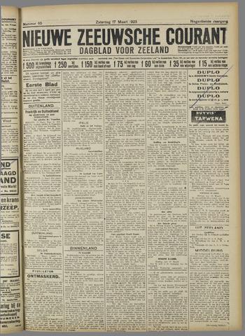 Nieuwe Zeeuwsche Courant 1923-03-17