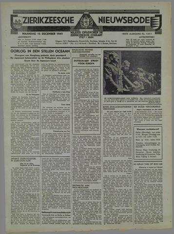 Zierikzeesche Nieuwsbode 1941-11-15