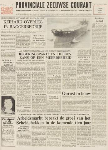 Provinciale Zeeuwse Courant 1971-04-21