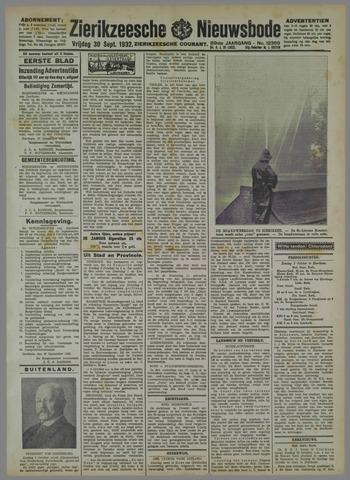 Zierikzeesche Nieuwsbode 1932-09-30