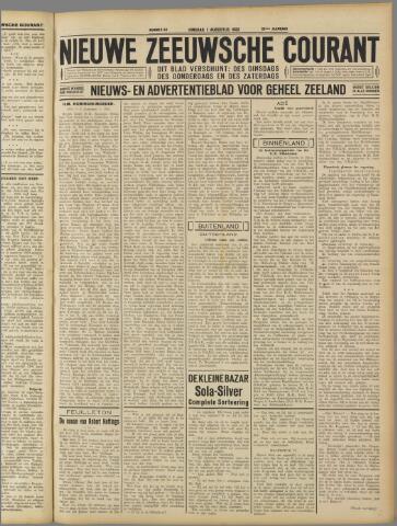 Nieuwe Zeeuwsche Courant 1933-08-01