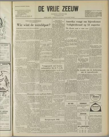 de Vrije Zeeuw 1958-08-02