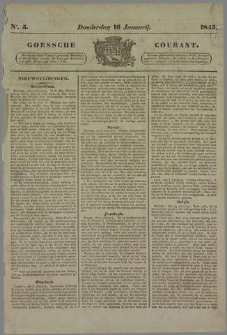 Goessche Courant 1845-01-16