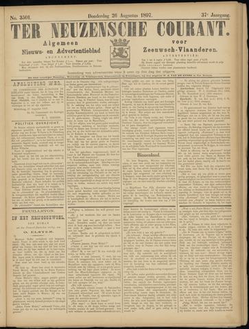 Ter Neuzensche Courant. Algemeen Nieuws- en Advertentieblad voor Zeeuwsch-Vlaanderen / Neuzensche Courant ... (idem) / (Algemeen) nieuws en advertentieblad voor Zeeuwsch-Vlaanderen 1897-08-26
