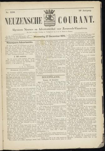 Ter Neuzensche Courant. Algemeen Nieuws- en Advertentieblad voor Zeeuwsch-Vlaanderen / Neuzensche Courant ... (idem) / (Algemeen) nieuws en advertentieblad voor Zeeuwsch-Vlaanderen 1876-12-27