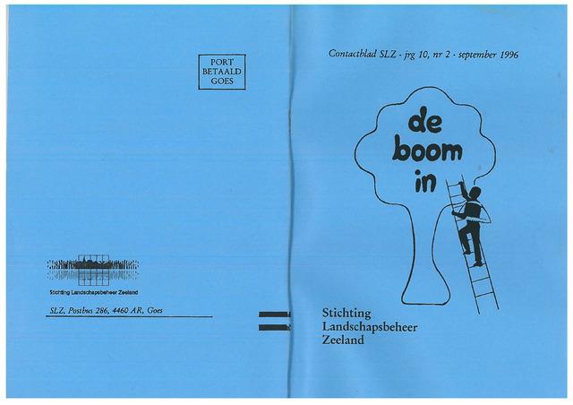 Landschapsbeheer Zeeland - de Boom in 1996-09-01