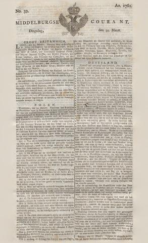 Middelburgsche Courant 1761-03-31