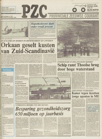 Provinciale Zeeuwse Courant 1981-11-25