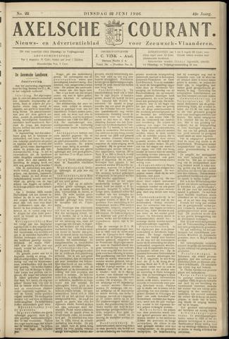 Axelsche Courant 1926-06-22