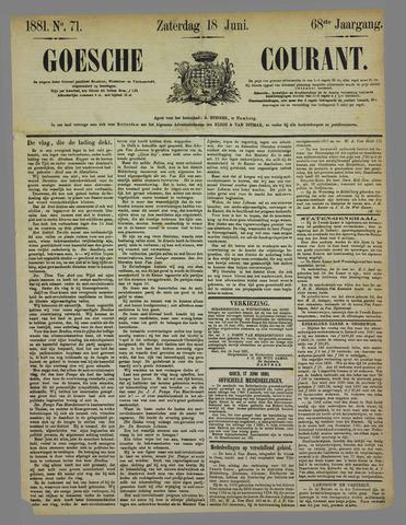 Goessche Courant 1881-06-18