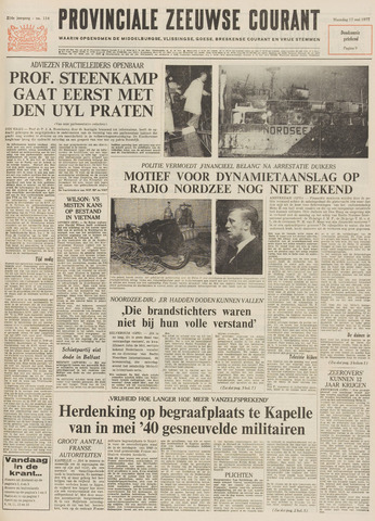 Provinciale Zeeuwse Courant 1971-05-17