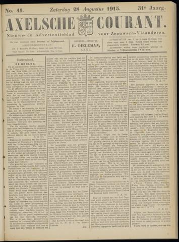 Axelsche Courant 1915-08-28
