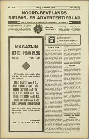 Noord-Bevelands Nieuws- en advertentieblad 1933-12-09
