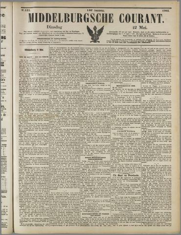 Middelburgsche Courant 1903-05-12