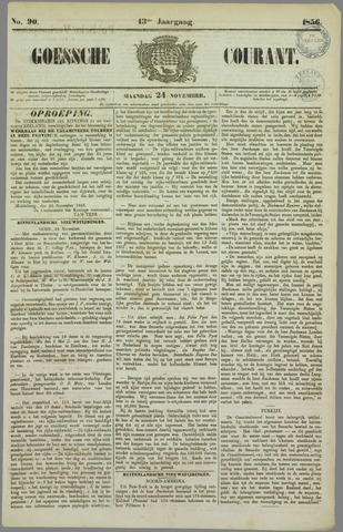Goessche Courant 1856-11-24
