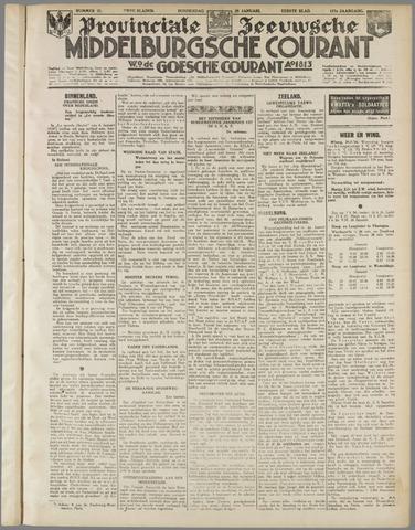 Middelburgsche Courant 1934-01-25