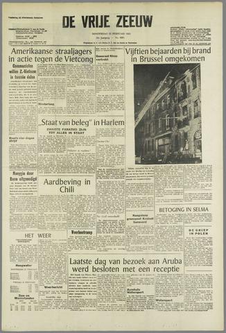 de Vrije Zeeuw 1965-02-25