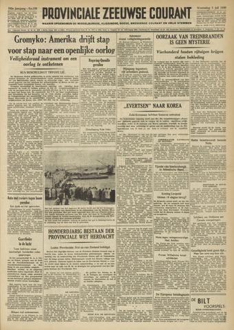 Provinciale Zeeuwse Courant 1950-07-05