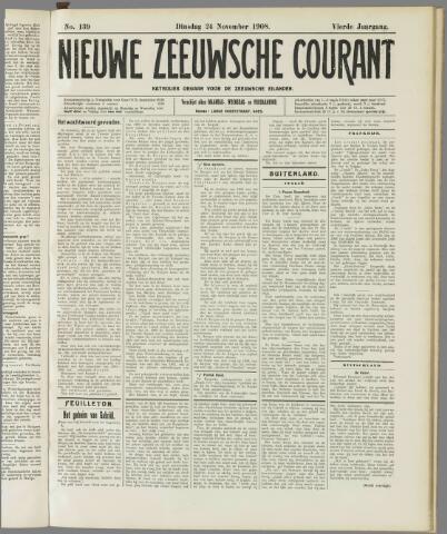 Nieuwe Zeeuwsche Courant 1908-11-24