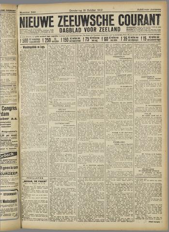 Nieuwe Zeeuwsche Courant 1922-10-19