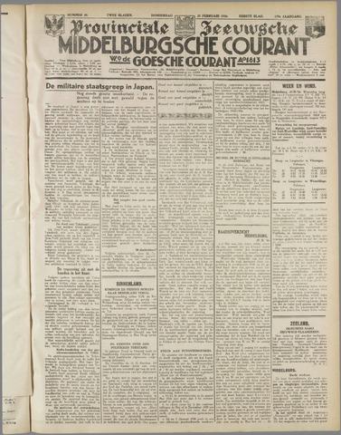 Middelburgsche Courant 1936-02-27