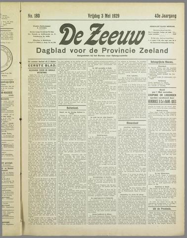 De Zeeuw. Christelijk-historisch nieuwsblad voor Zeeland 1929-05-03
