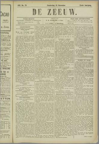 De Zeeuw. Christelijk-historisch nieuwsblad voor Zeeland 1891-11-26