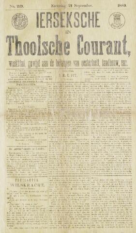 Ierseksche en Thoolsche Courant 1889-09-21