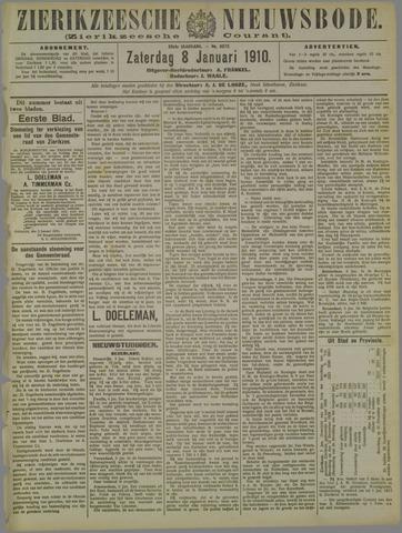 Zierikzeesche Nieuwsbode 1910-01-08