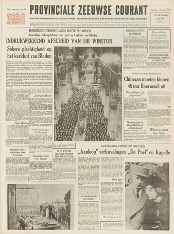 Provinciale Zeeuwse Courant 1965-02-01