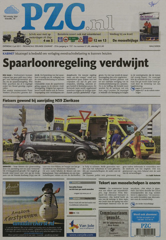 Provinciale Zeeuwse Courant 2011-07-02