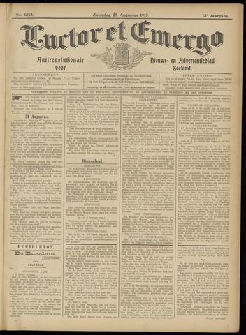 Luctor et Emergo. Antirevolutionair nieuws- en advertentieblad voor Zeeland / Zeeuwsch-Vlaanderen. Orgaan ter verspreiding van de christelijke beginselen in Zeeuwsch-Vlaanderen 1915-08-28