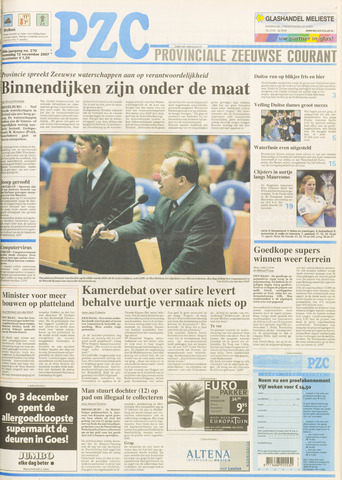 Provinciale Zeeuwse Courant 2003-11-12