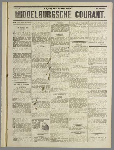 Middelburgsche Courant 1925-01-16