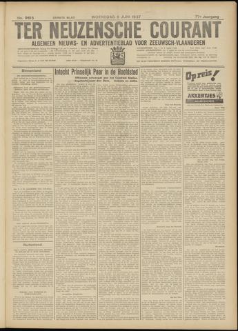Ter Neuzensche Courant. Algemeen Nieuws- en Advertentieblad voor Zeeuwsch-Vlaanderen / Neuzensche Courant ... (idem) / (Algemeen) nieuws en advertentieblad voor Zeeuwsch-Vlaanderen 1937-06-09