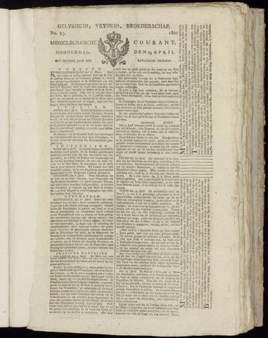 Middelburgsche Courant 1801-04-23