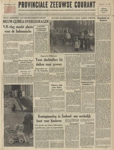 Provinciale Zeeuwse Courant 1963-05-01