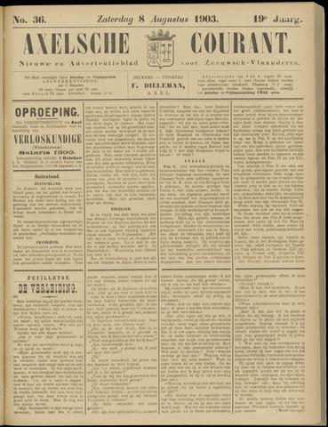 Axelsche Courant 1903-08-08