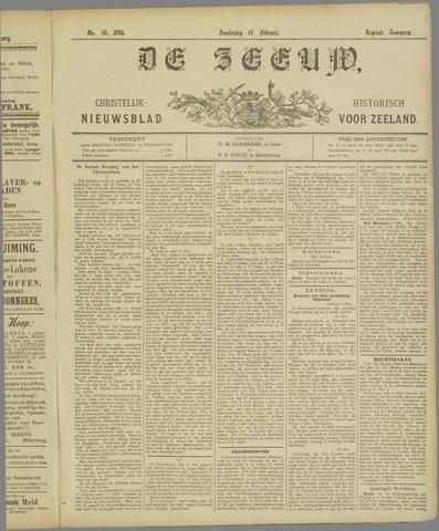 De Zeeuw. Christelijk-historisch nieuwsblad voor Zeeland 1895-02-14