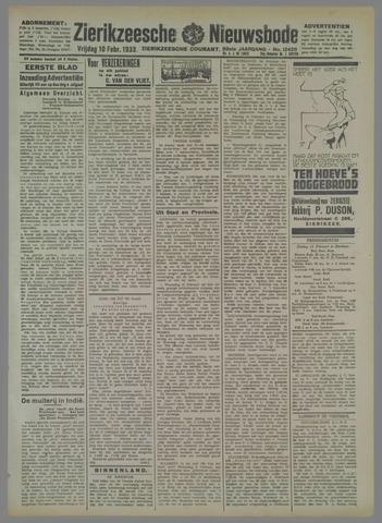 Zierikzeesche Nieuwsbode 1933-02-10